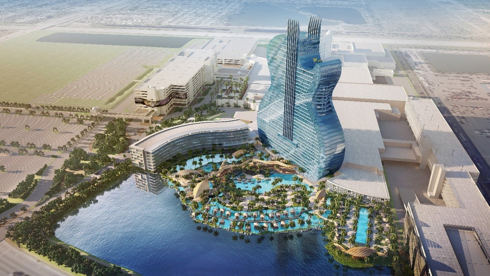 Seminole Tribe smashes guitars at $1.5 billion expansion of casino in Florida