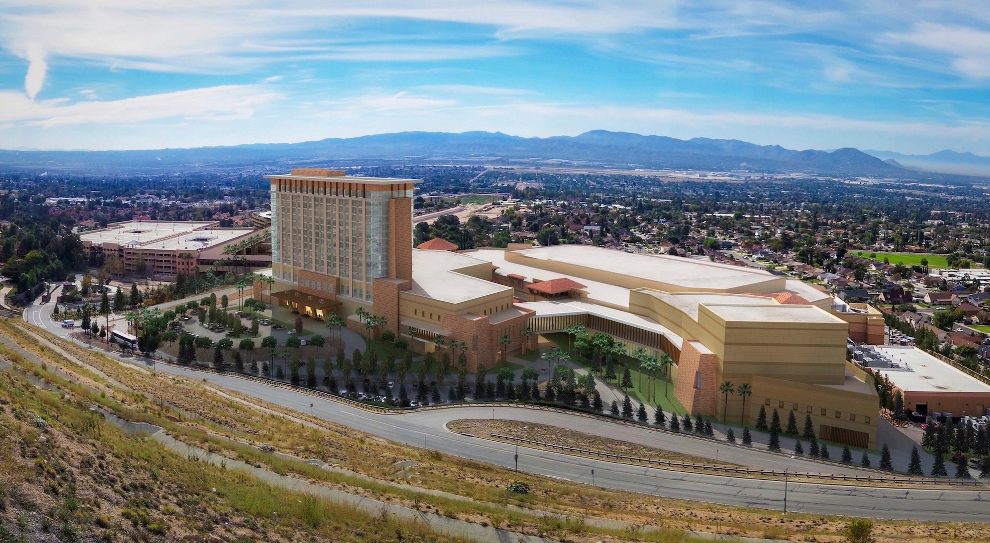 San Manuel Band finally adds hotel to casino as part of major expansion project