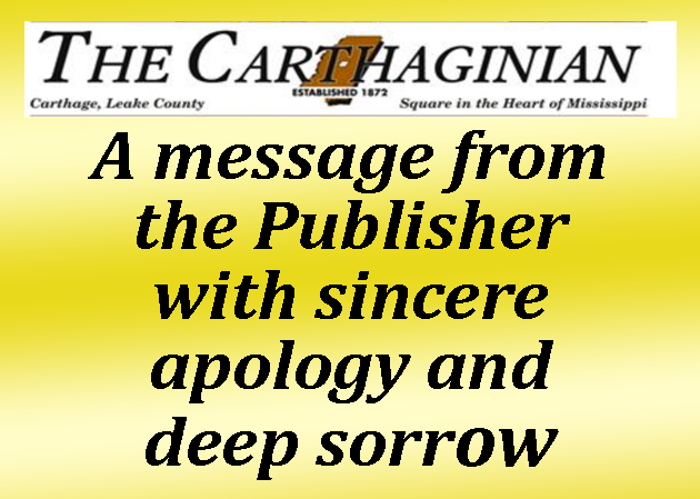 Newspaper apologizes to Mississippi Choctaws for 'derogatory' story on casino referendum