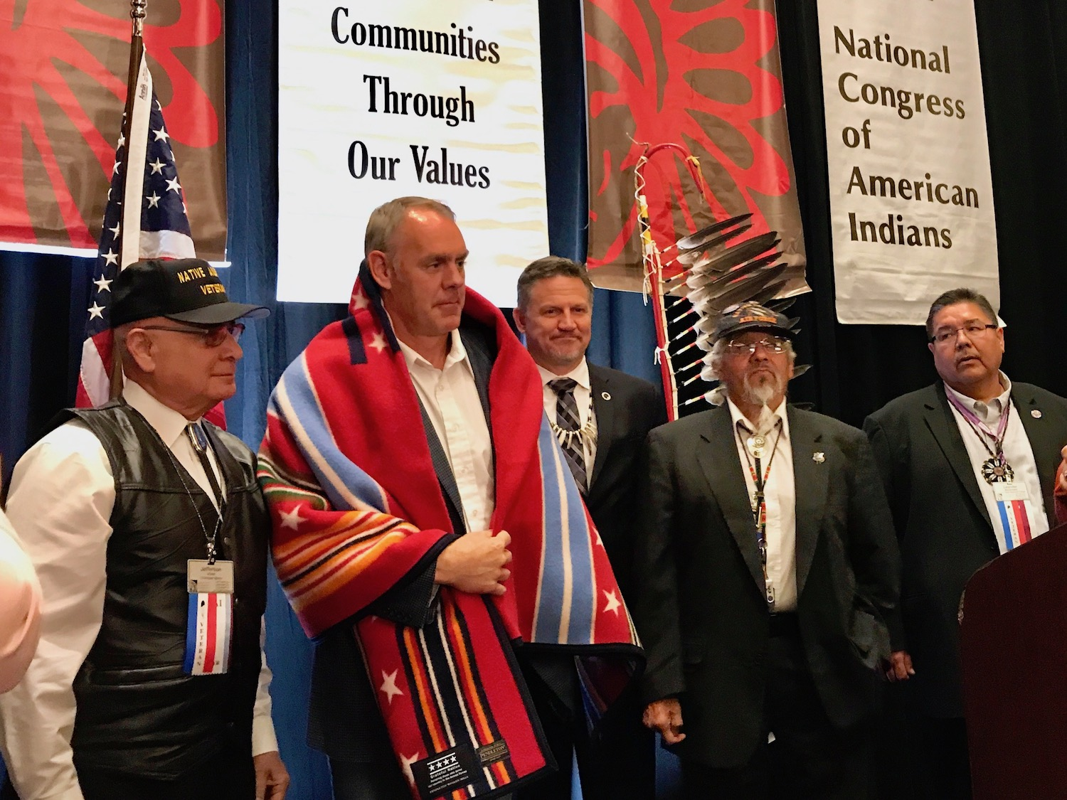 National Congress of American Indians welcomes Secretary Zinke again