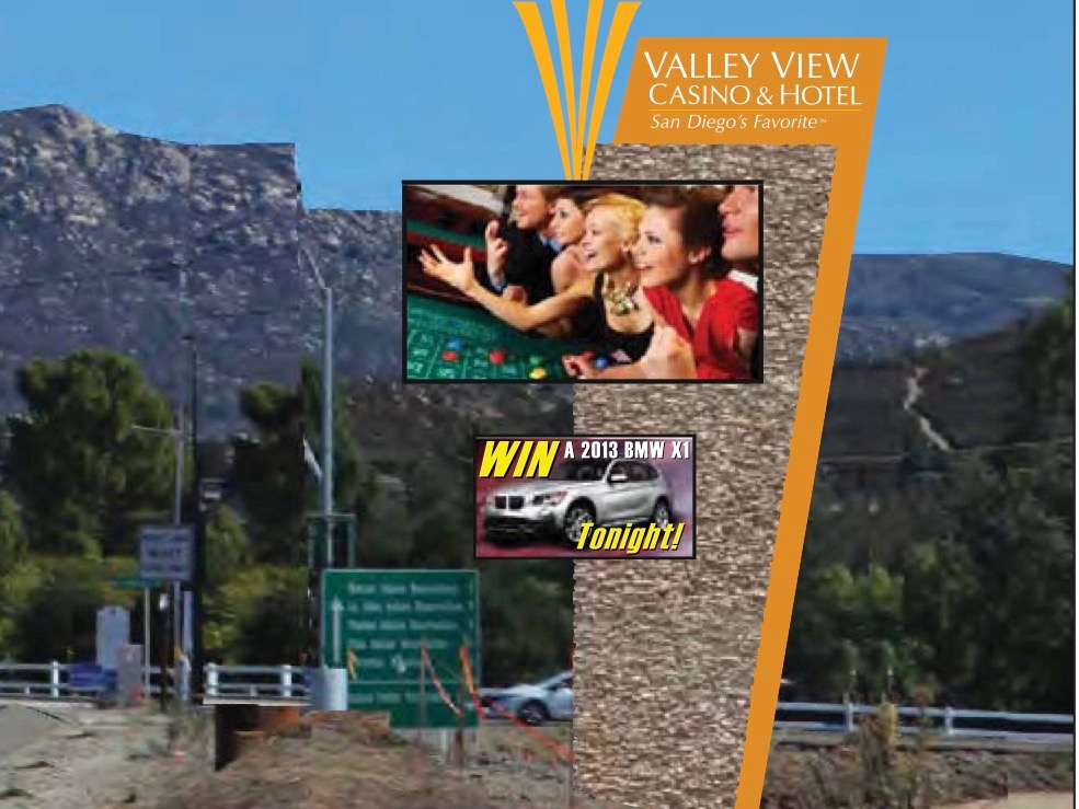 San Pasqual Band includes digital billboard in casino expansion