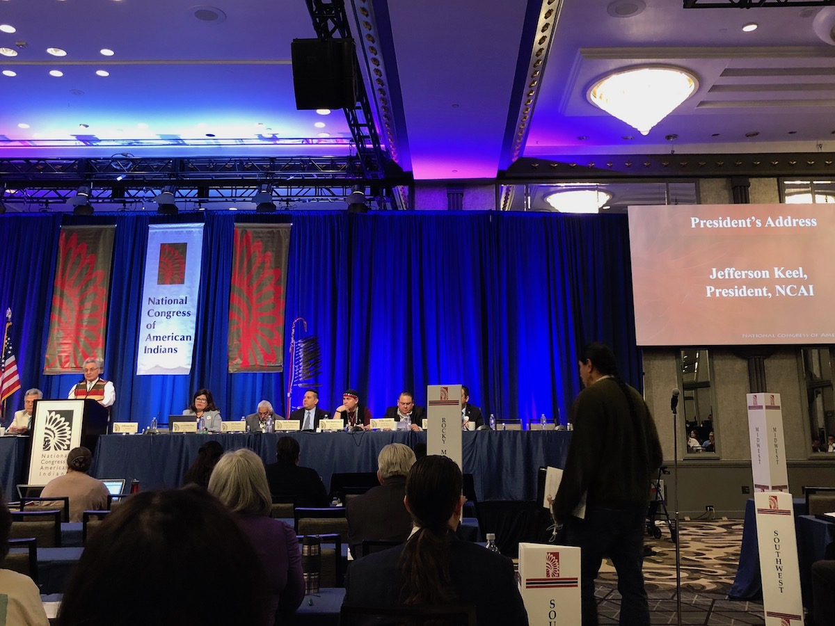 Tribes looking for more support to pass controversial sovereignty bill