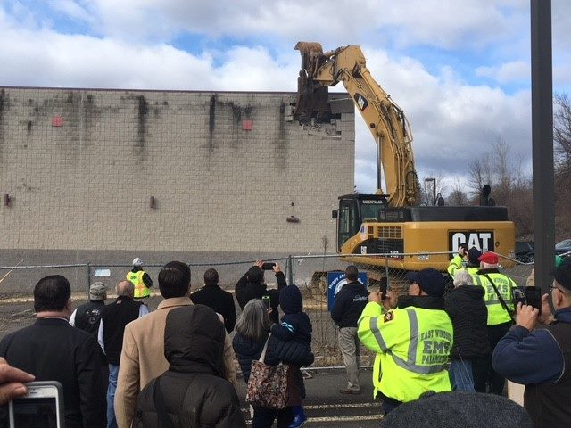 Tribes finally start demolition at site of delayed casino in Connecticut