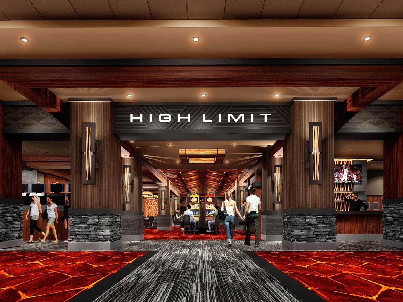 Saginaw Chippewa Tribe debuts first phase of major casino renovation