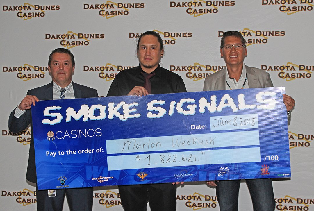Whitecap Dakota First Nation awards largest casino jackpot of $1.8 million