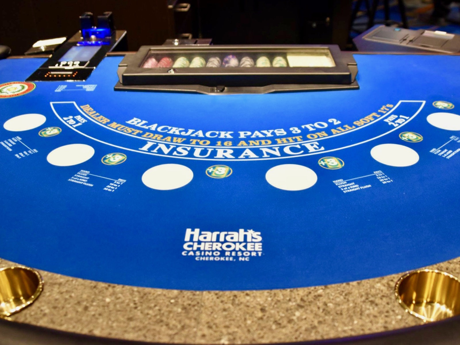 harrah s casino cherokee nc blackjack rules