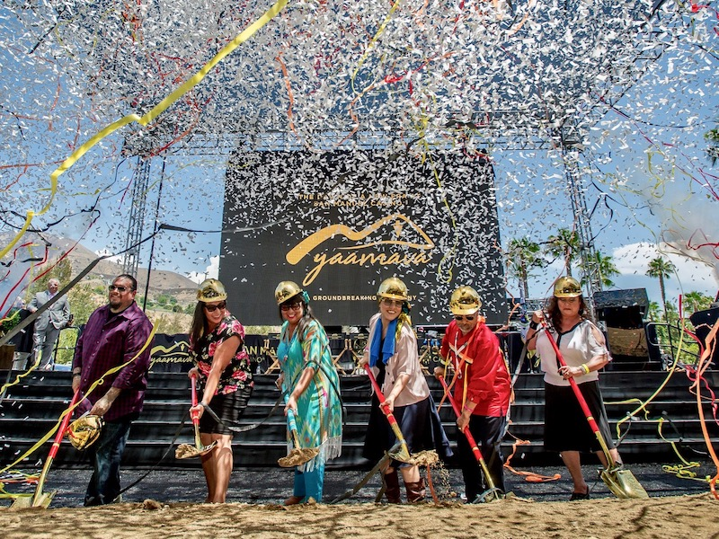 San Manuel Band breaks ground on $550 million expansion at casino