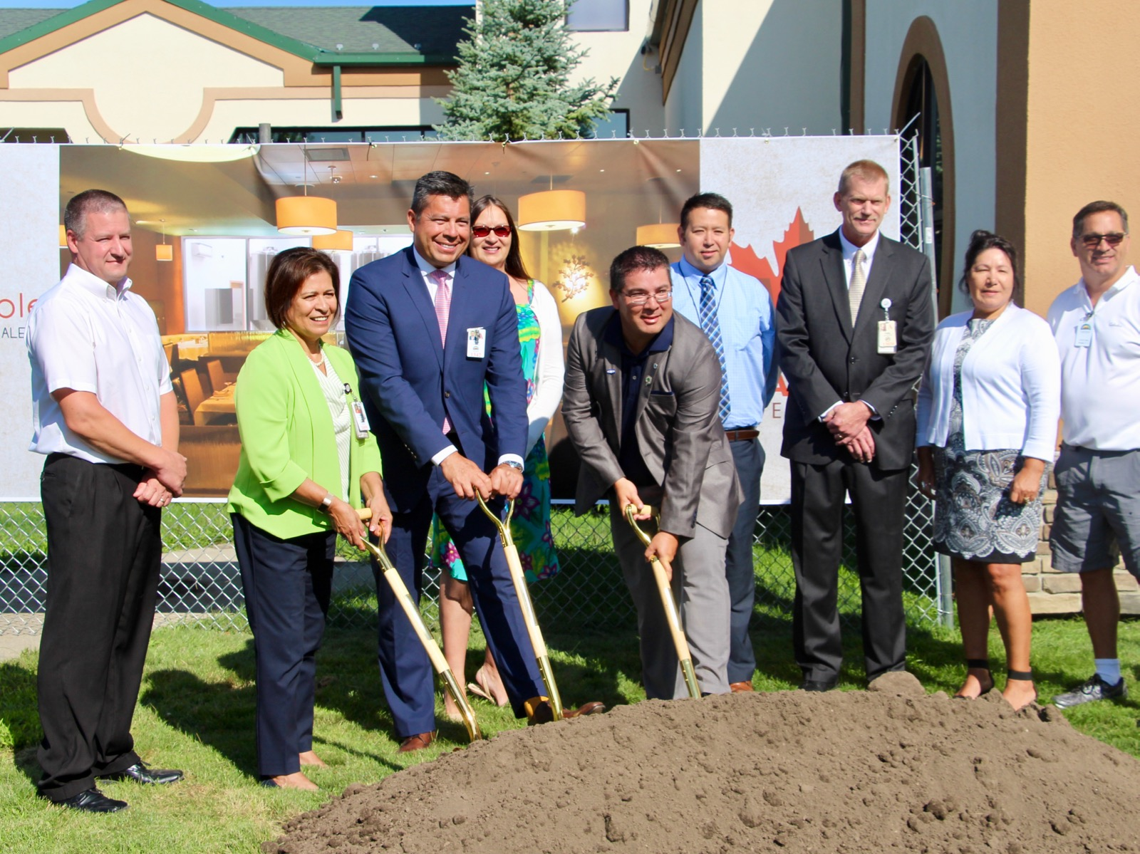 St. Regis Mohawk Tribe breaks ground on brewery at casino