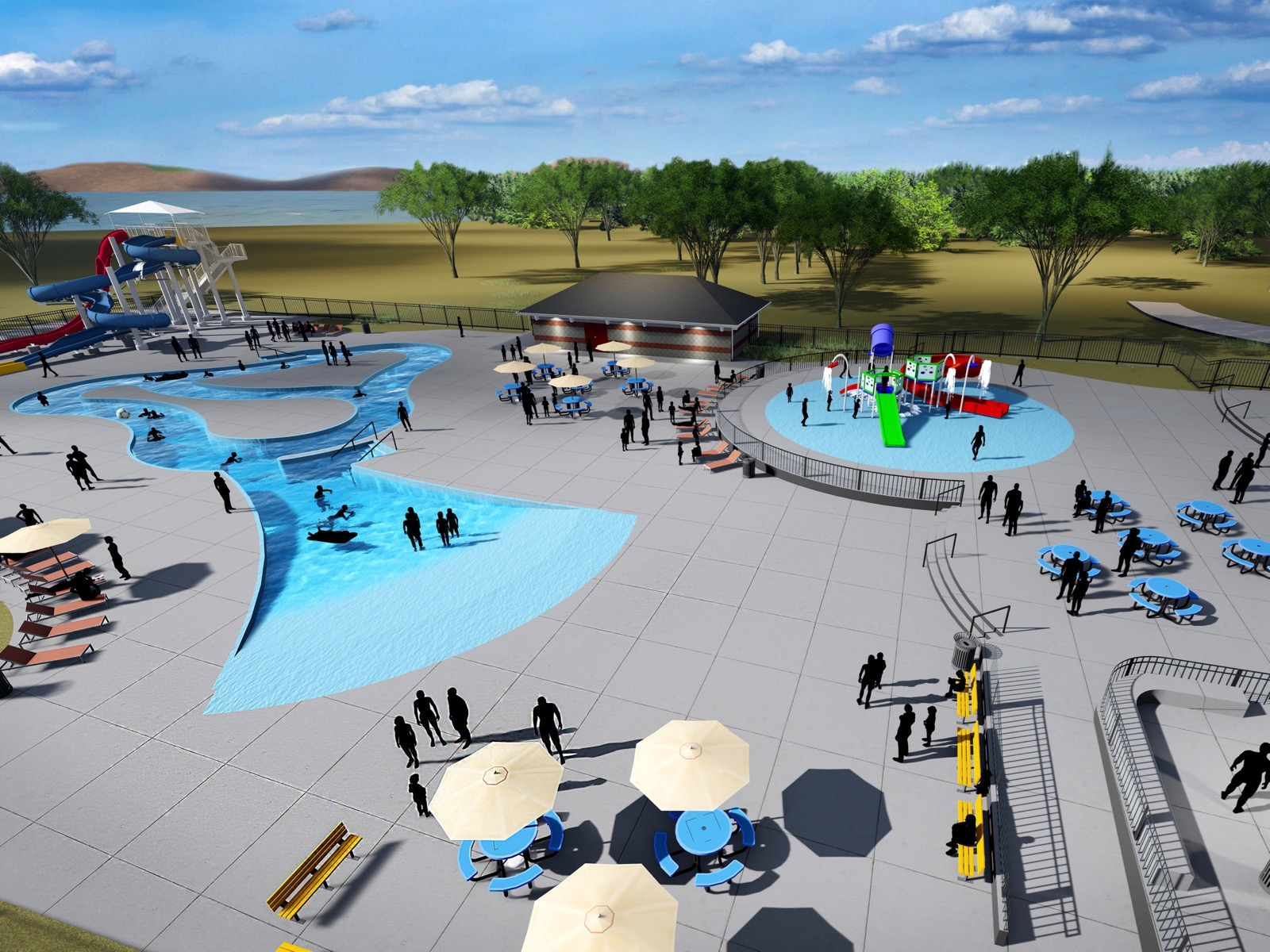 Mandan, Hidatsa and Arikara Nation welcomes visitors to water park