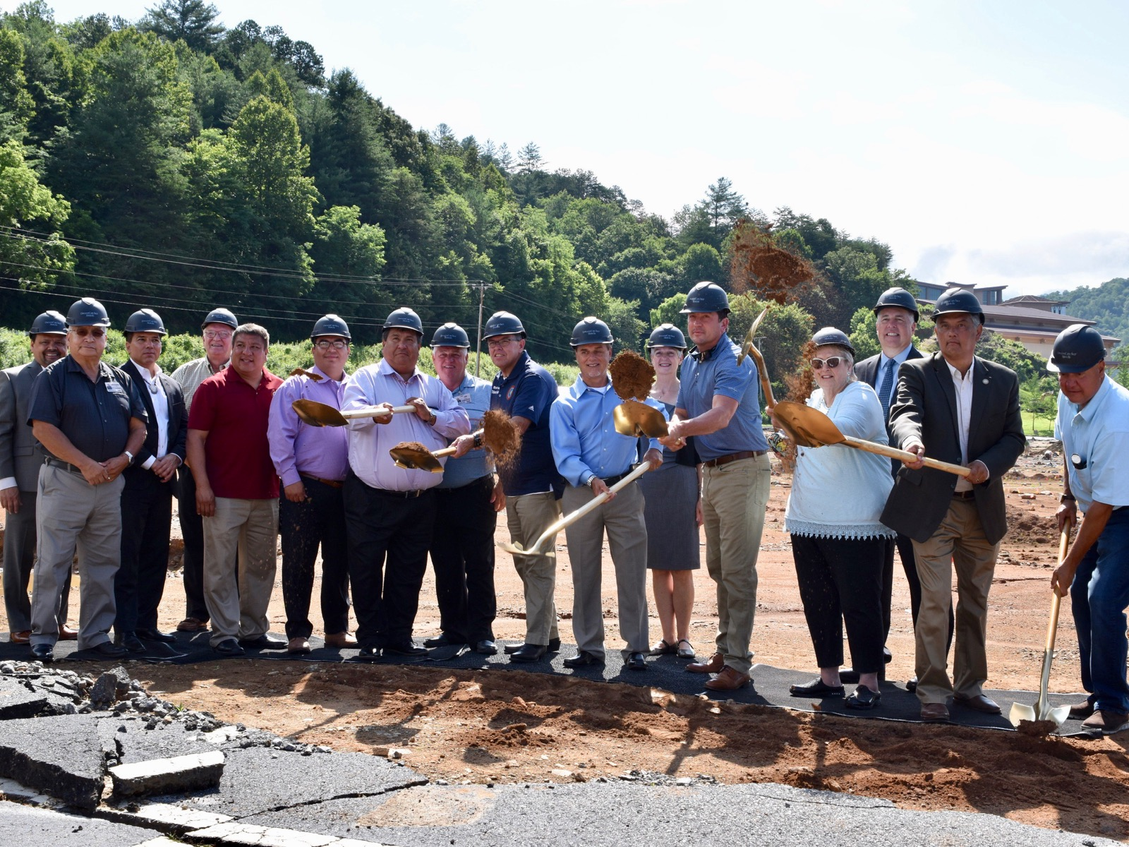 Eastern Band of Cherokee Indians continues casino expansion work