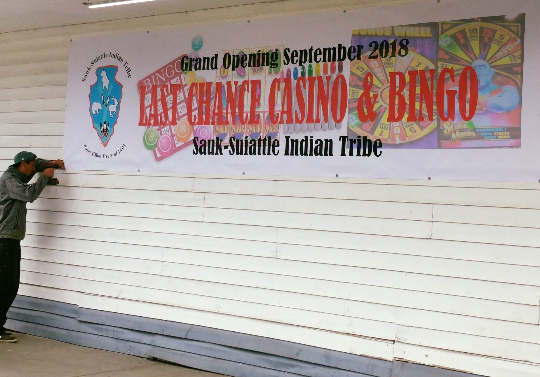 Sauk-Suiattle Tribe welcomes Bigfoot to first gaming facility