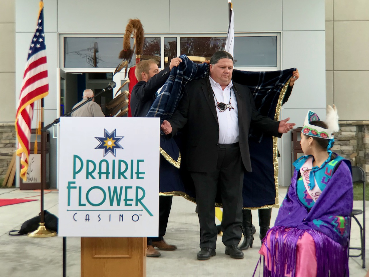 A symbol of sovereignty: Ponca Tribe comes full circle with Prairie Flower