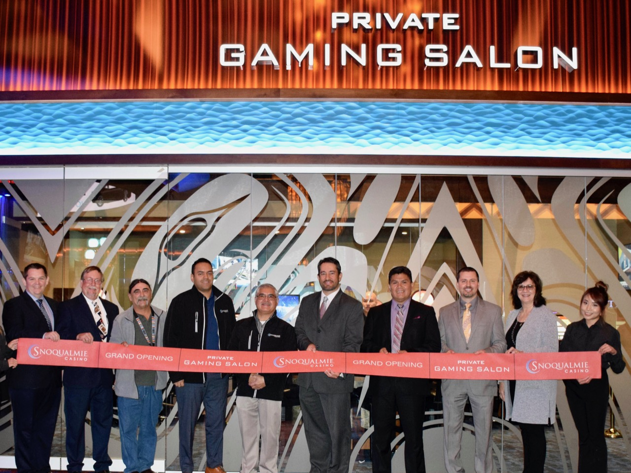 Snoqualmie Tribe opens private gaming room on 10th anniversary