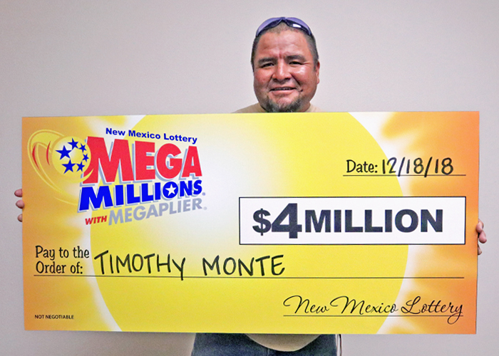 Man from Navajo Nation claims $4 million lottery prize in New Mexico
