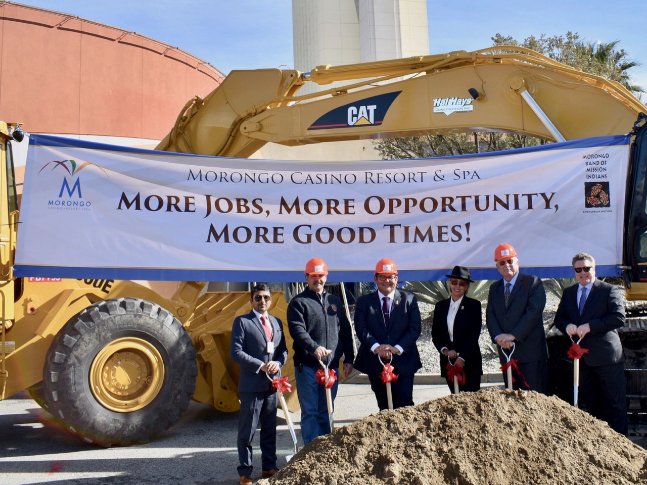 'Morongo has come a long way': Morongo Band starts work on casino expansion