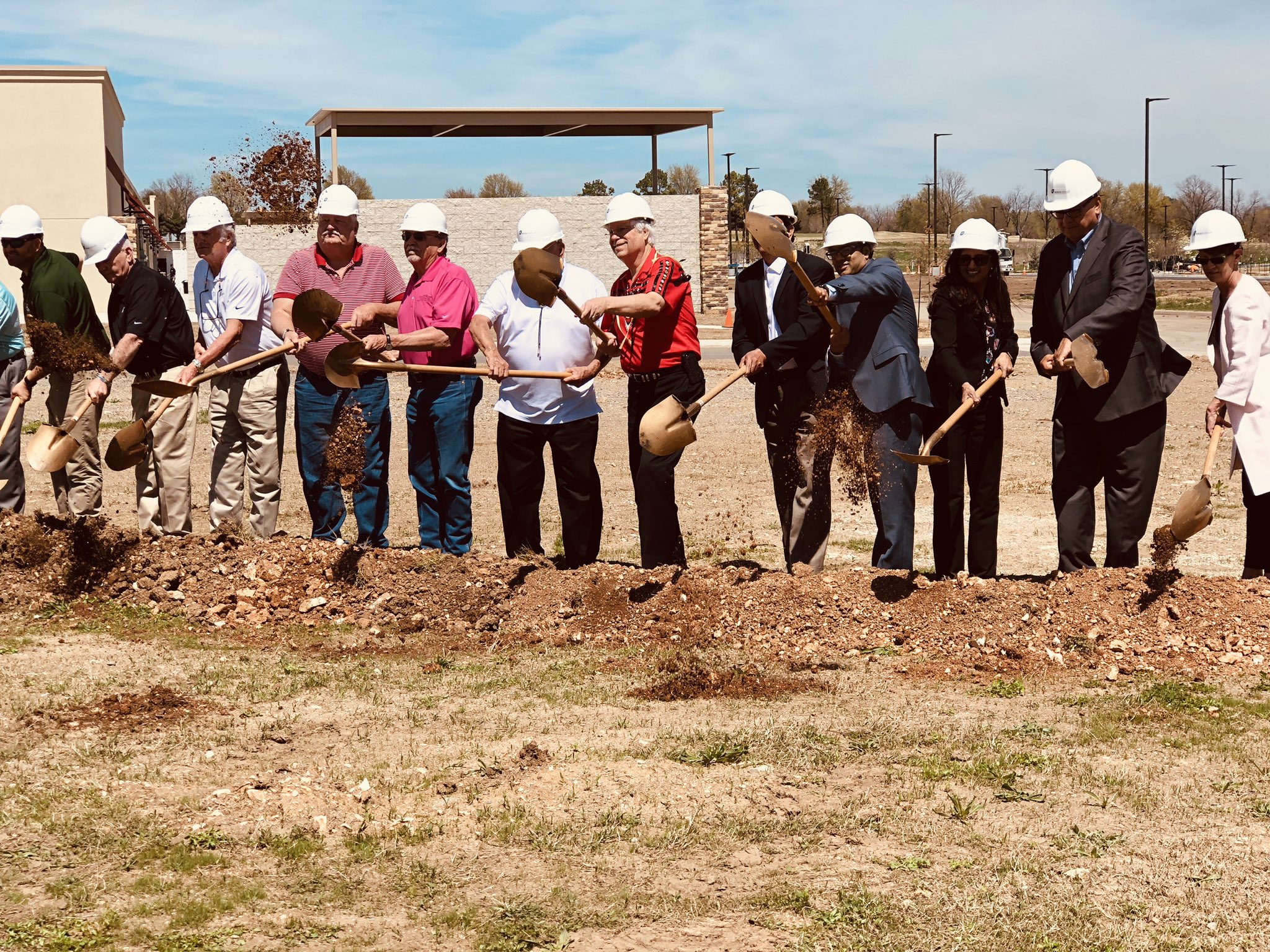 Cherokee Nation helps break ground on hotel next to new gaming facility