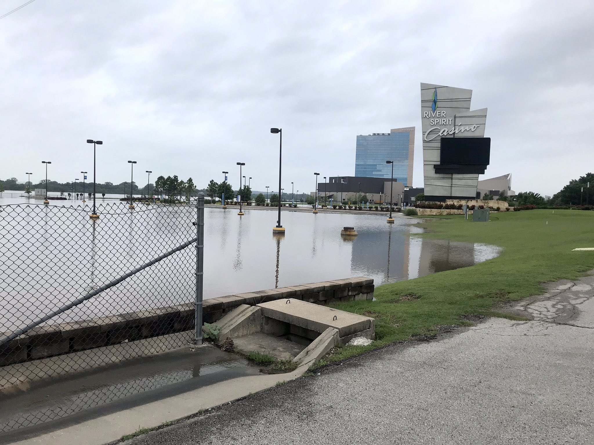 Cherokee Nation and Muscogee (Creek) Nation close casinos due to flooding threat