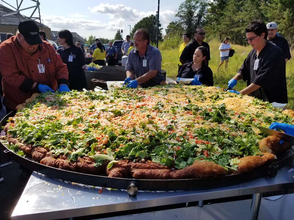 Leech Lake Band debuts new casino by setting fry bread record
