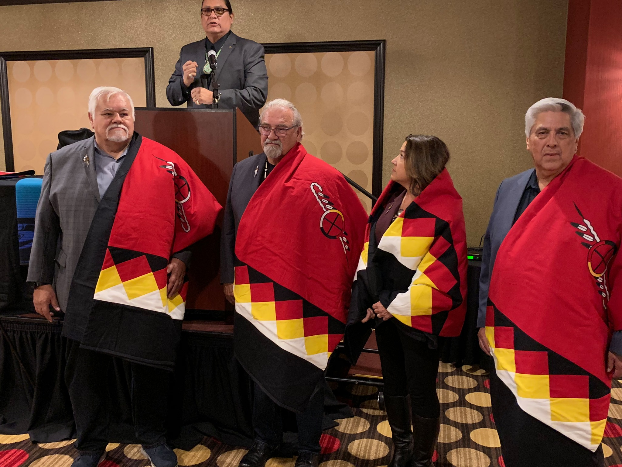 California Nations Indian Gaming Association bids farewell to leadership