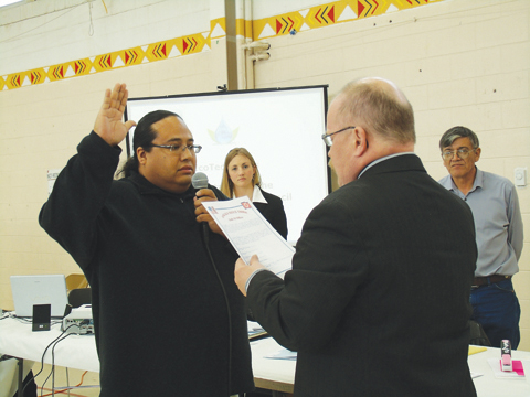 Native Sun  News: Oglala Sioux Tribe chooses a treasurer again