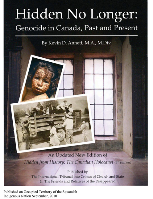 Native Sun News: Author tackles indigenous genocide in Canada