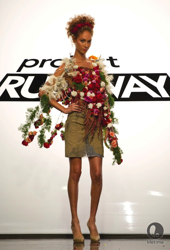 Patricia Michaels Shows Powwow Chic Look On Project Runway