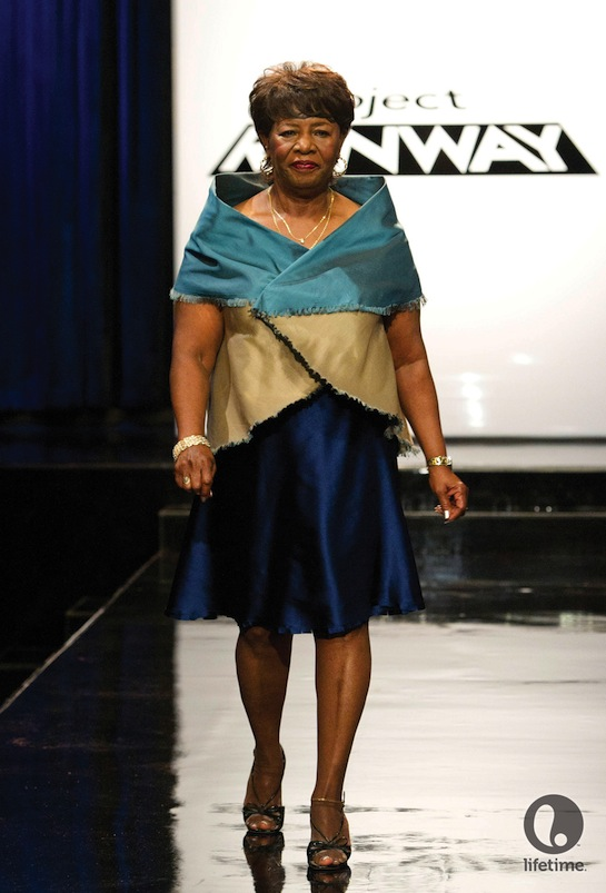Patricia Michaels gets through another week on Project Runway