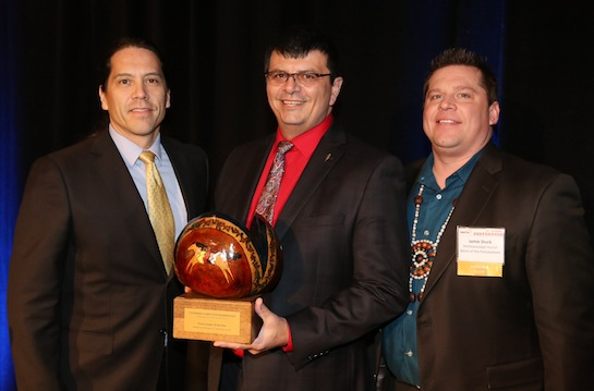 Nottawaseppi Huron chairman wins national honor at NAFOA