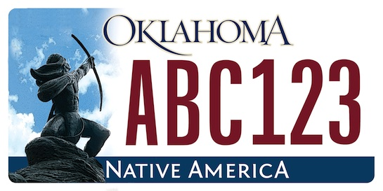 10th Circuit rejects challenge to Indian image on license plate