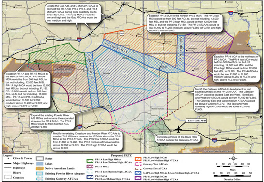 Native Sun News: Tribes protest expansion of military fly zone