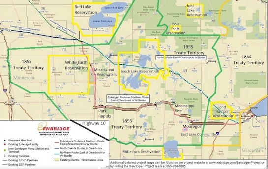 Mille Lacs Band holds public hearing on proposed energy pipeline