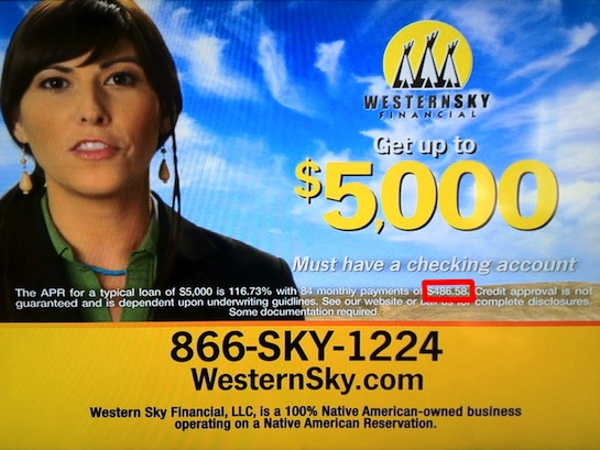 Western Sky Loans >> 4th Circuit won't recognize tribal authority in online ...