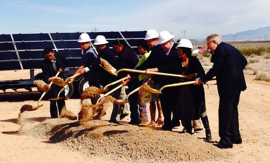 Moapa Band loses bid for $438M solar facility on reservation