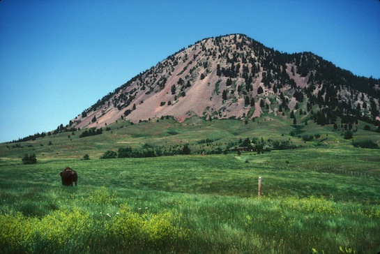 Ivan Star Comes Out: Group disturbs tranquility at Bear Butte