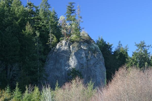 Jamestown S'Klallam Tribe wants sacred rock on national register