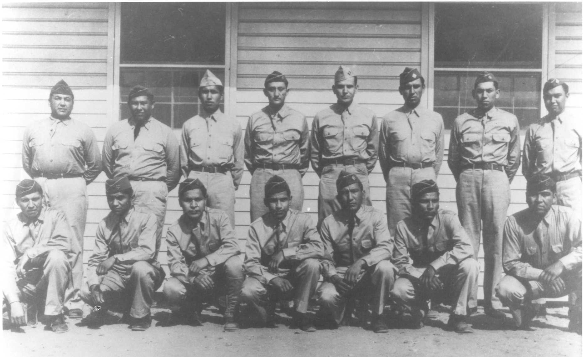 the code talkers So, when he overshadowed the honoring of the code talkers during native  american heritage month, he intentionally bypassed the honoring.