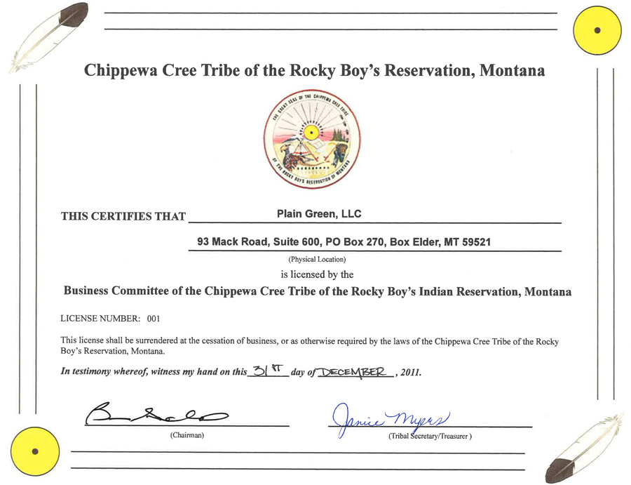 Chippewa Cree Tribe hit with class action over online lending