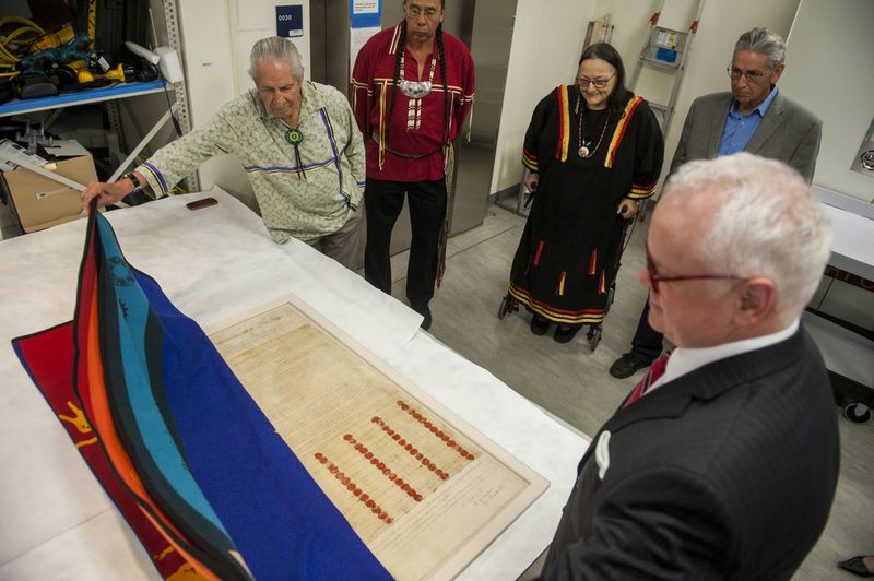 New York tribes commemorate 220th anniversary of treaty