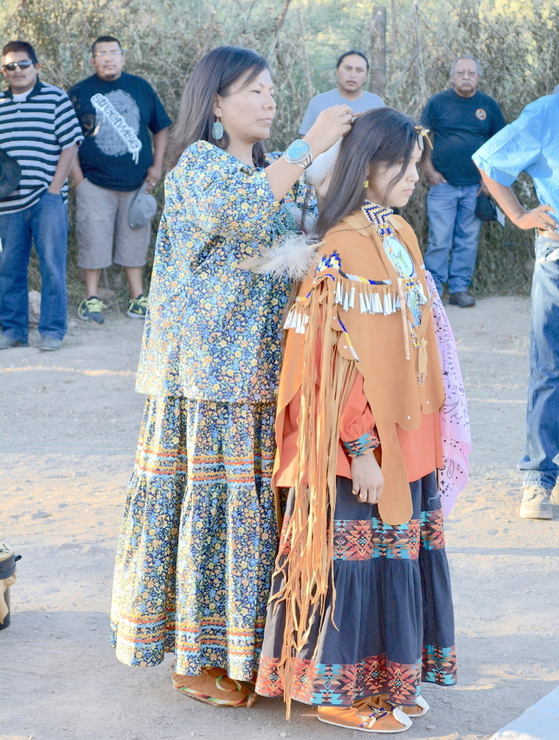 Apache Messenger: Younger generation returns to sacred site