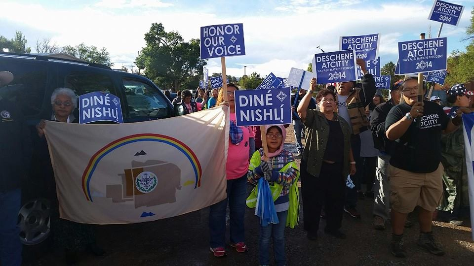 Navajo Nation voters ease language standard for candidates