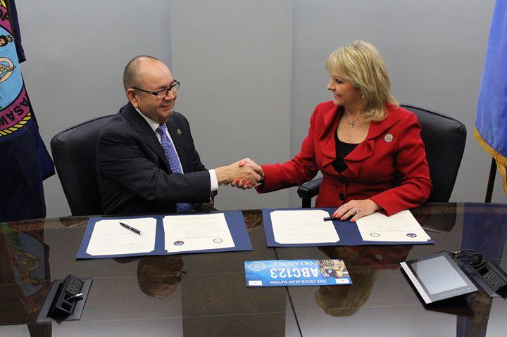 Oklahoma governor discussed Indian issues with Donald Trump