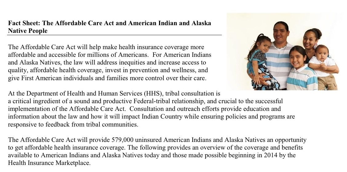 MTPR: Native Americans urged to sign up for healthcare plans