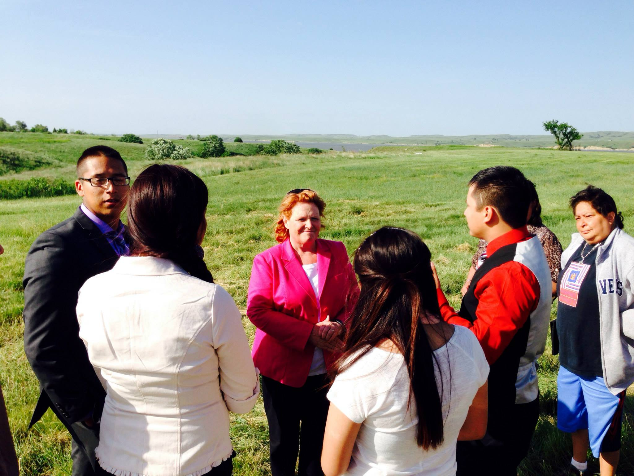 Sen. Heidi Heitkamp again parts with Indian Country on #NoDAPL movement