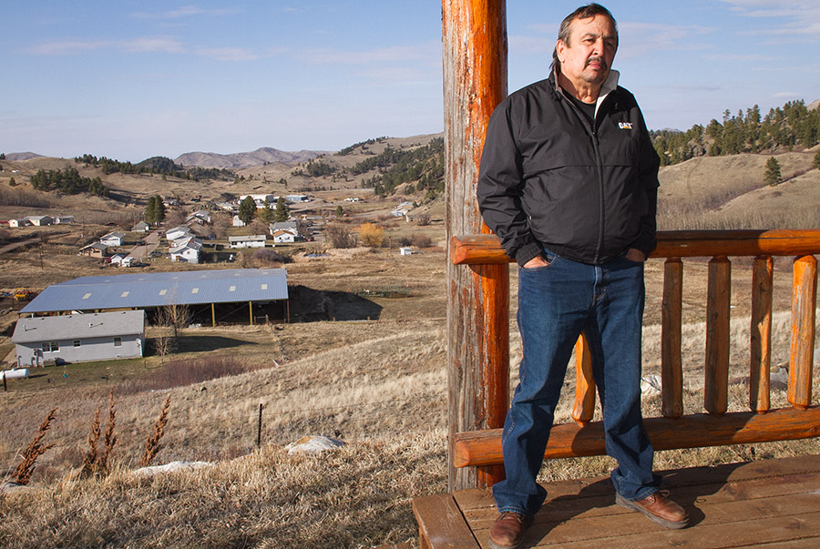 Chippewa Cree Tribe swears in chairman more than a year later