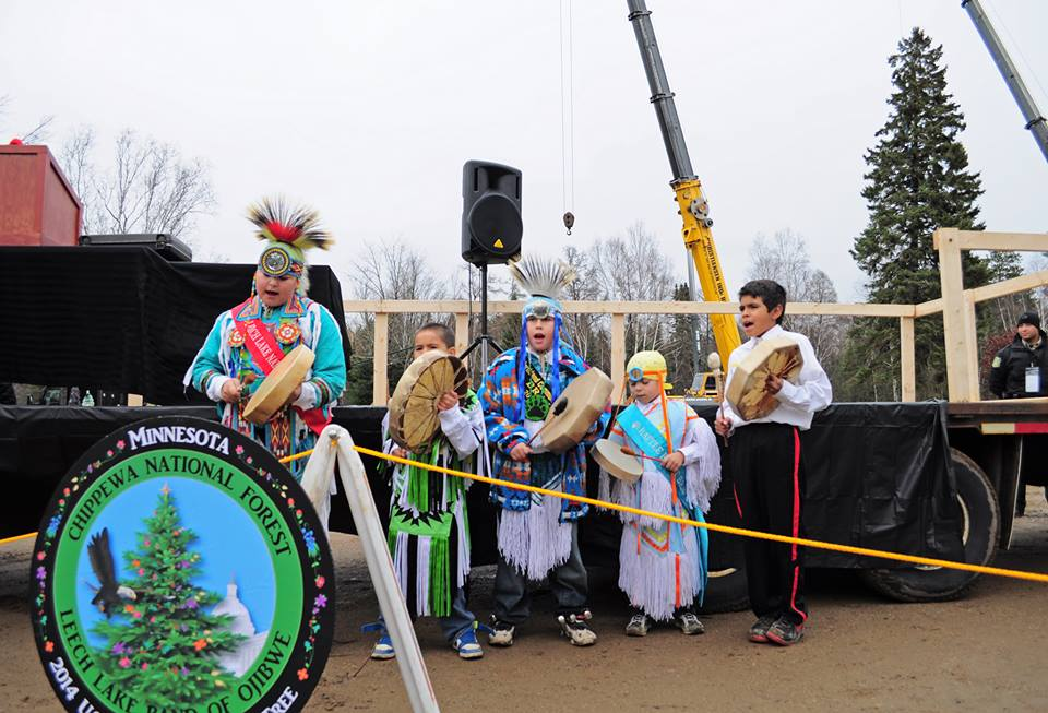 Leech Lake Band sends youth to DC for Capitol Christmas Tree
