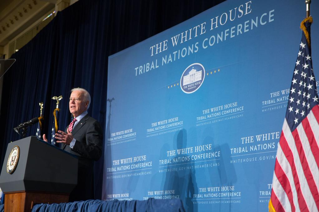 Vice President Biden calls for inclusion of Alaska tribes in VAWA