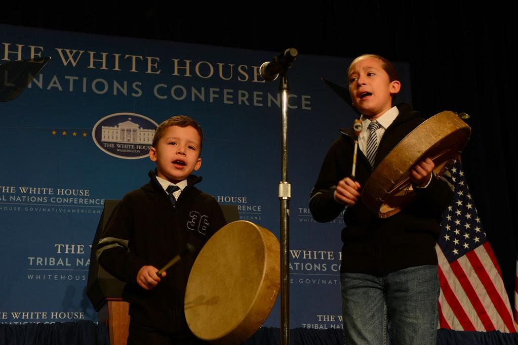 Lac Courte Oreilles youth represent tribe at White House meeting