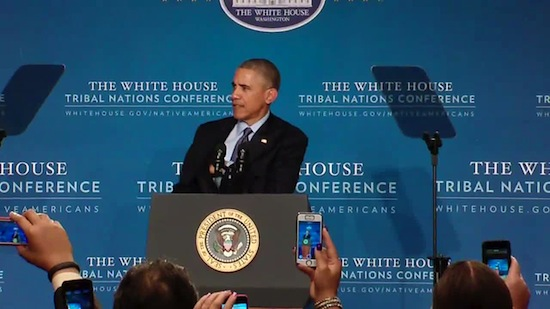 White House Tribal Nations Conference on November 5 in D.C.