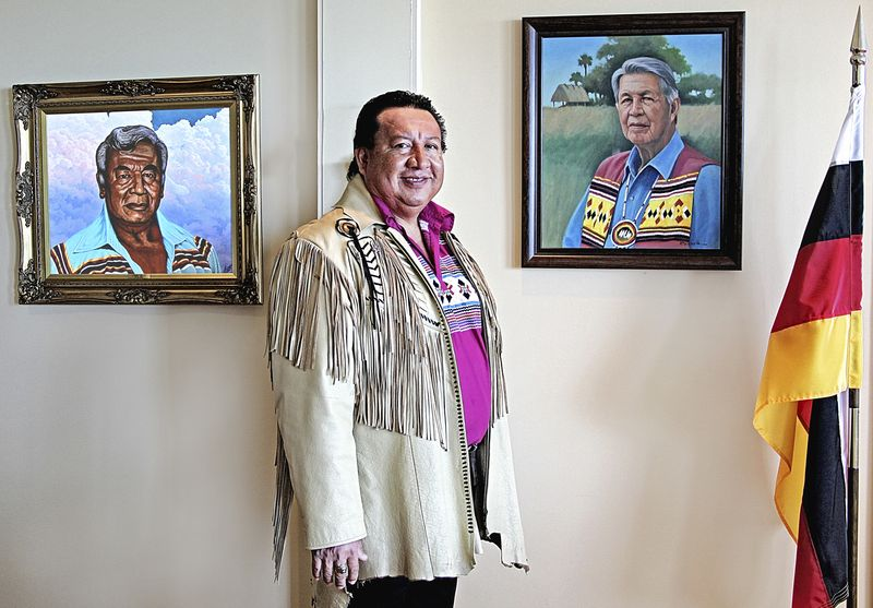 Chair of Miccosukee Tribe faces contempt over dispute with IRS