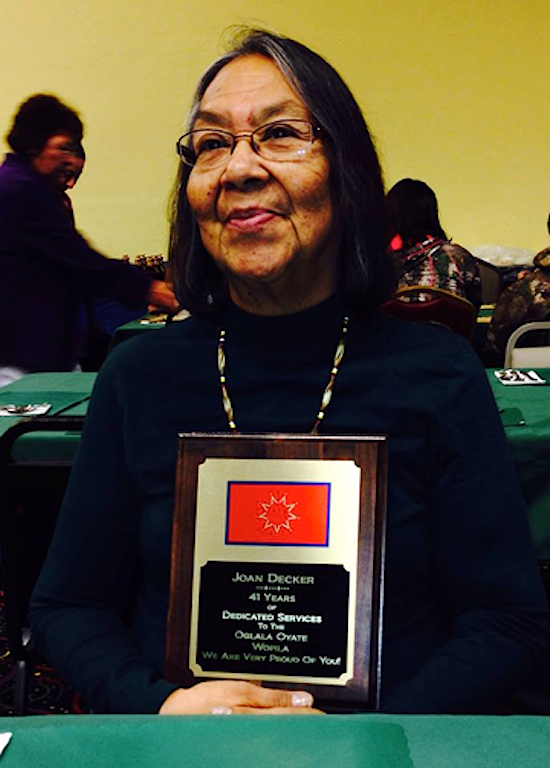 Native Sun News: Oglala Sioux Tribe honors employee for service